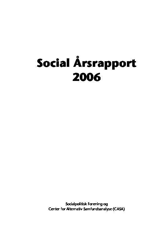 Social-Årsrapport-2006.-Om-Frivilligt-socialt-arbejde