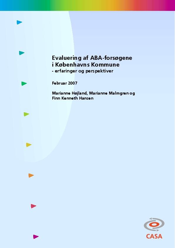 Evaluering-af-ABA-forsøgene-i-Københavns-Kommune-2007