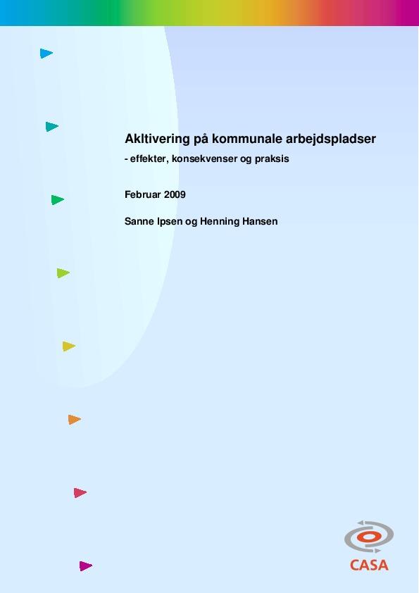 Aktivering-på-kommunale-arbejdspladser-2009