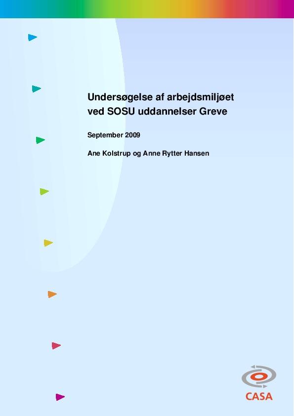 Undersøgelse-af-arbejdsmiljøet-ved-SOSU-uddannelser-Greve-2009