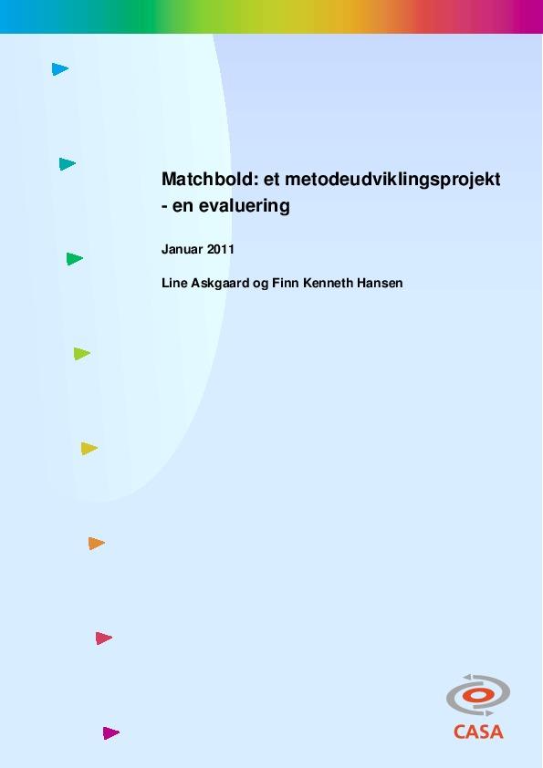 Matchbold-et-metodeudviklingsprojekt-2011